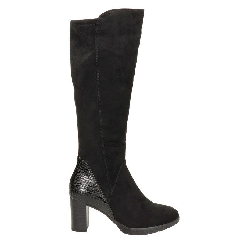 Marco Tozzi laarzen zwart online kopen