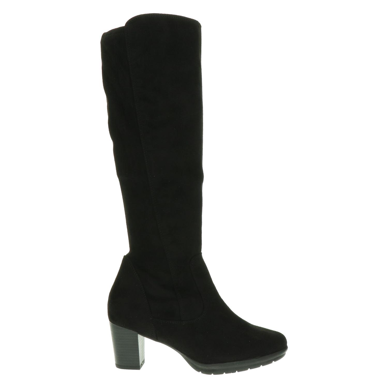 Marco Tozzi Hoge laarzen voor dames Zwart Shoemixx.nl