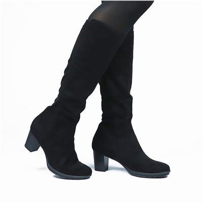 Marco Tozzi dames laarzen zwart