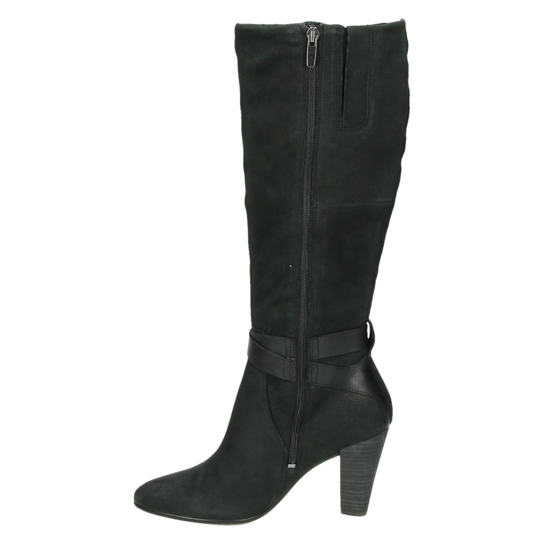 Ecco Shape 75 dames hoge laarzen zwart
