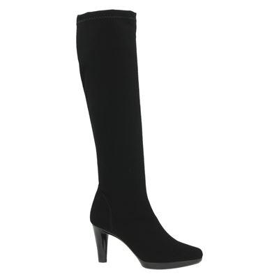 Rapisardi dames hoge laarzen Zwart