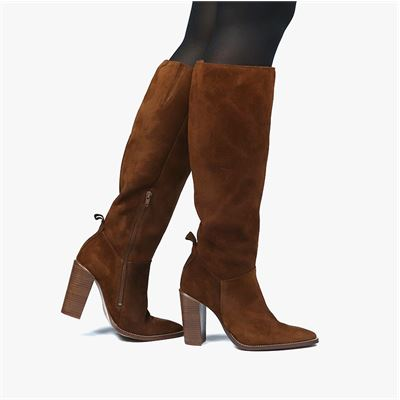 Nelson dames laarzen cognac