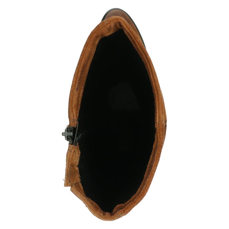 Mjus - Hoge laarzen - Cognac