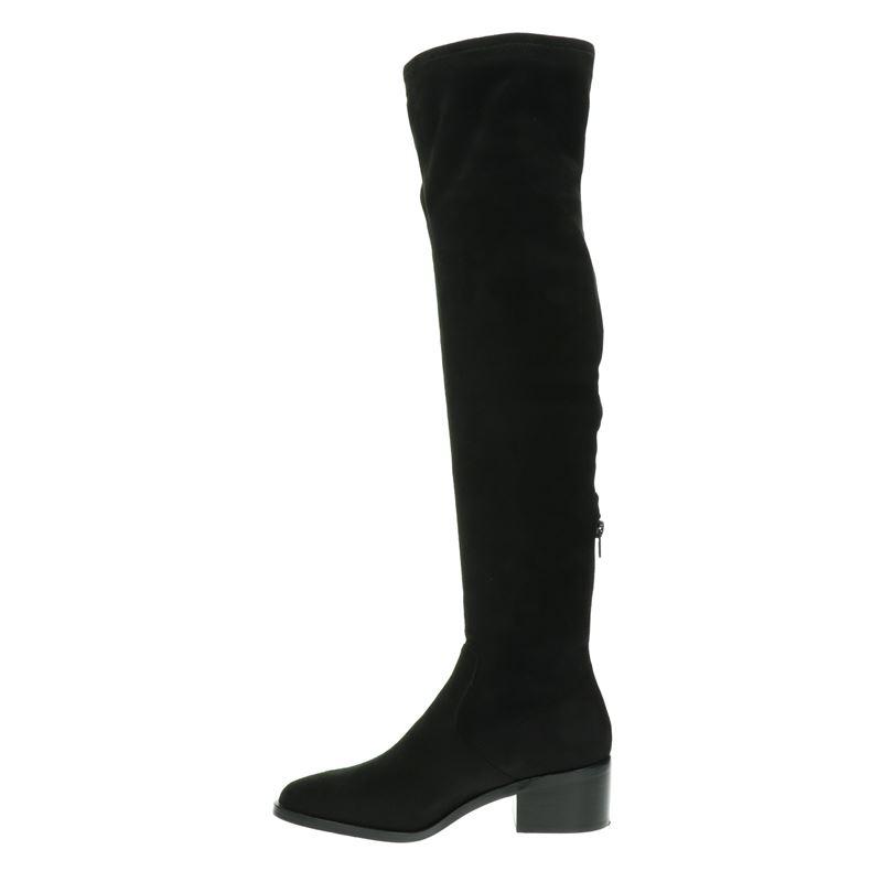 Steve Madden Georgette - Overknee laarzen - Zwart