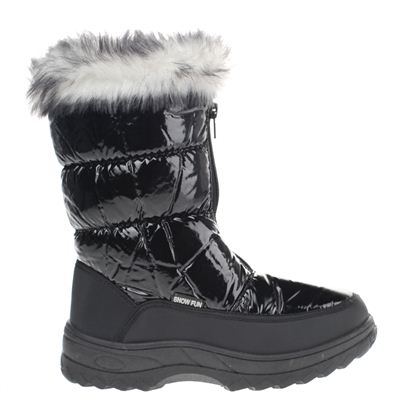 Snow Fun dames snowboots zwart