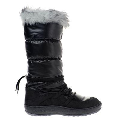 Kimbertex dames snowboots zwart