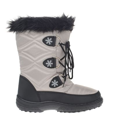 Snow Fun dames snowboots Grijs