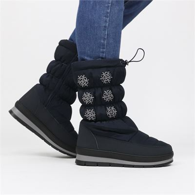 Snow Fun dames snowboots blauw
