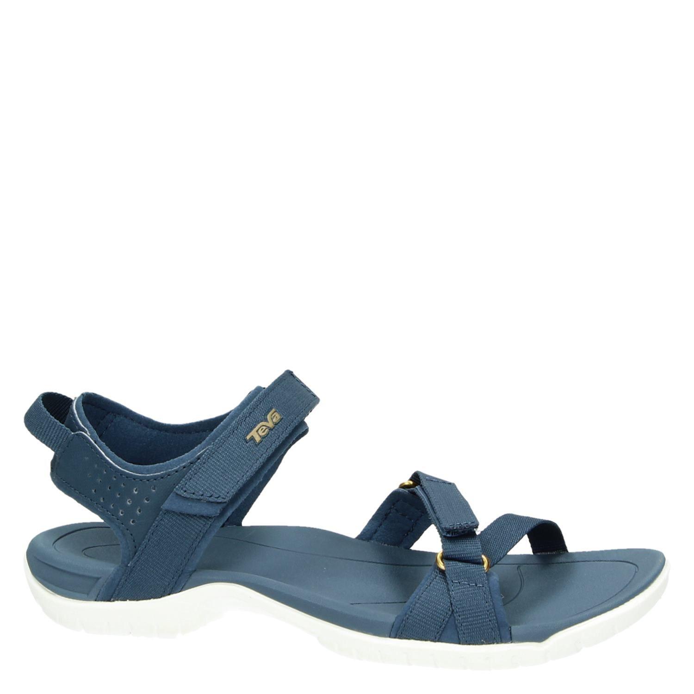 teva verra dames sandalen blauw. Black Bedroom Furniture Sets. Home Design Ideas