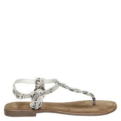 Lazamani dames sandalen wit
