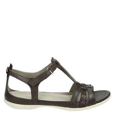 Ecco dames sandalen bruin