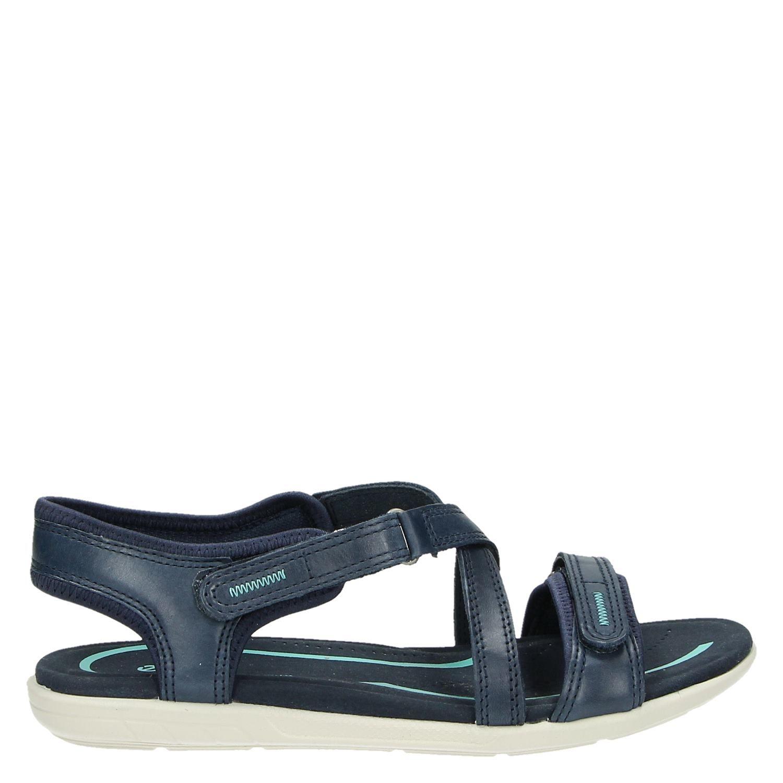ecco bluma dames sandalen blauw. Black Bedroom Furniture Sets. Home Design Ideas