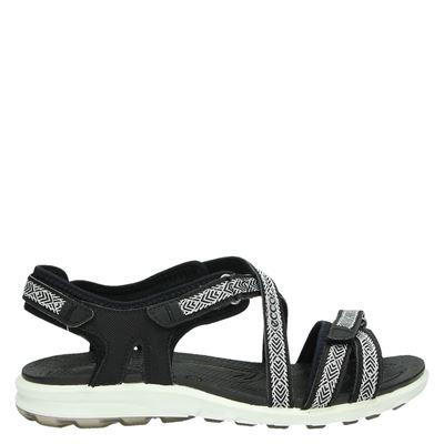 Ecco Cruisedames sandalen Zwart