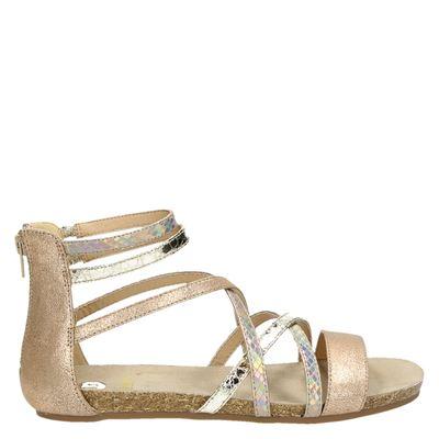 La Strada dames sandalen rose goud