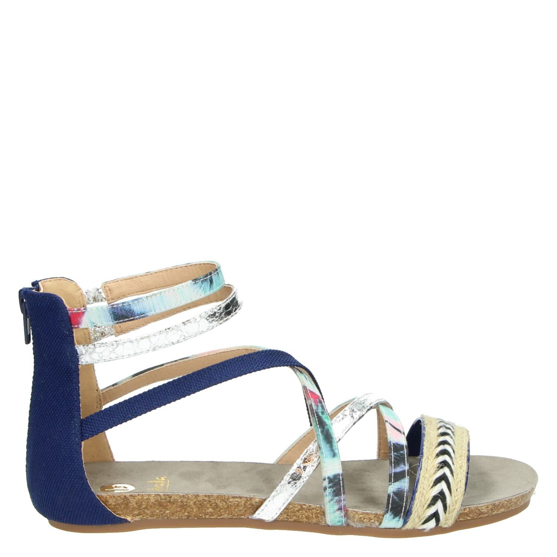 Femmes Sandales Bleues VFYNVWiQhP