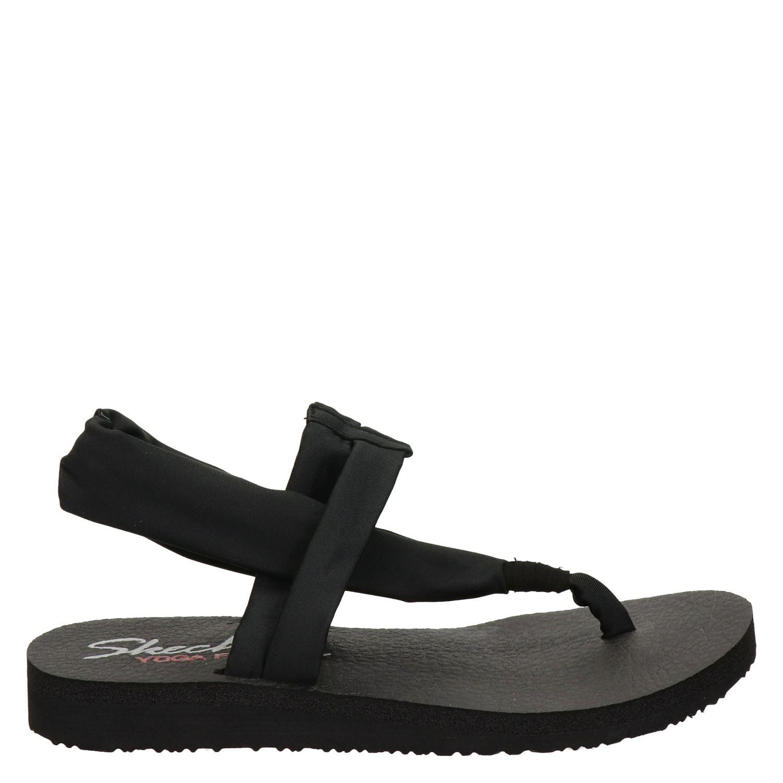 Skechers Cali Medidation Swing By dames sandalen zwart