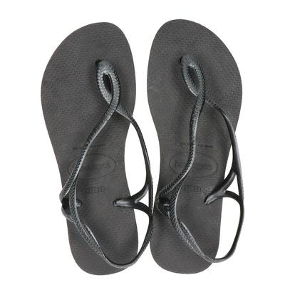 Havaianas dames sandalen zwart