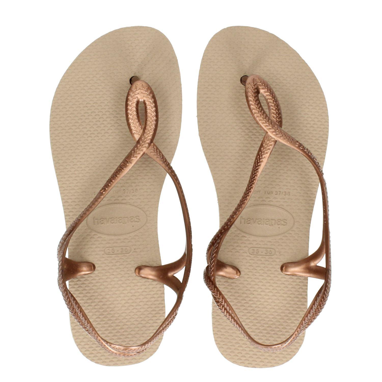 Sandale Pour Les Femmes Havaianas Luna - Or BT2BUo