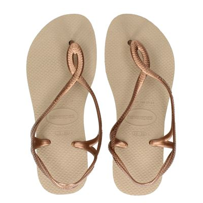 Havaianas dames slippers goud