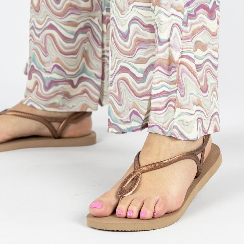 Havaianas Luna - Slippers - Goud