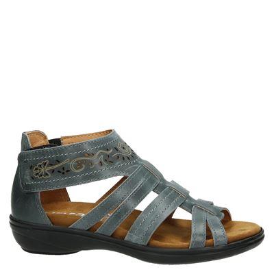 Nelson dames sandalen Grijs