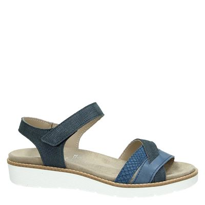 Nelson dames sandalen Blauw