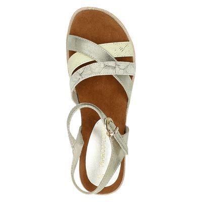 Marco Tozzi dames sandalen Goud