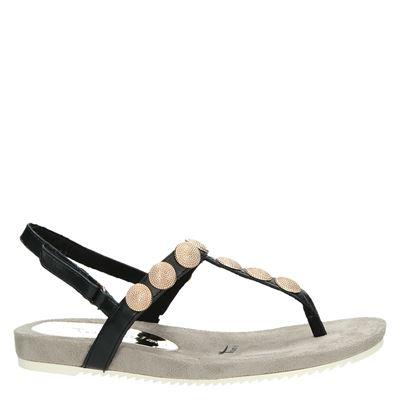 Tamaris dames sandalen Zwart