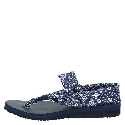 Skechers Yoga Foamdames sandalen Blauw