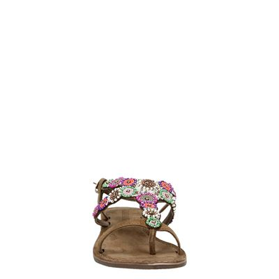 Lazamani dames sandalen Multi
