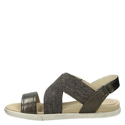 Ecco Damaradames sandalen Bruin