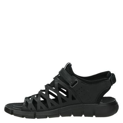 Ecco Intrinsicdames sandalen Zwart