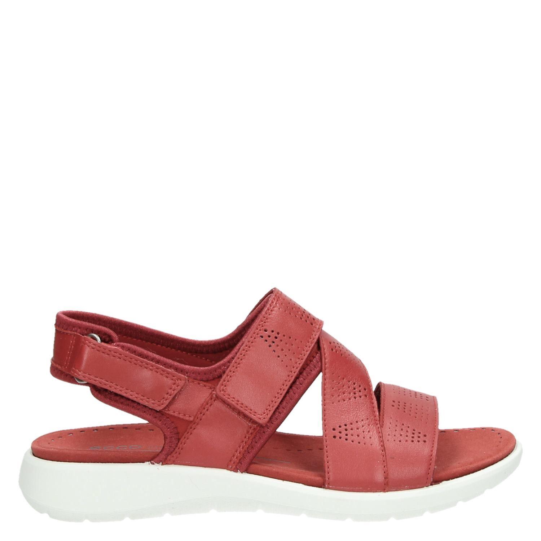 Sandales Ecco Doux 5 Rouge 8OKGmX4wi