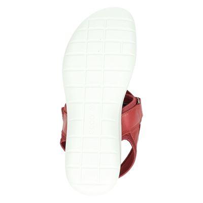 Ecco Soft 5dames sandalen Rood