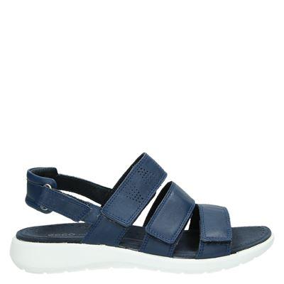 Ecco dames sandalen blauw