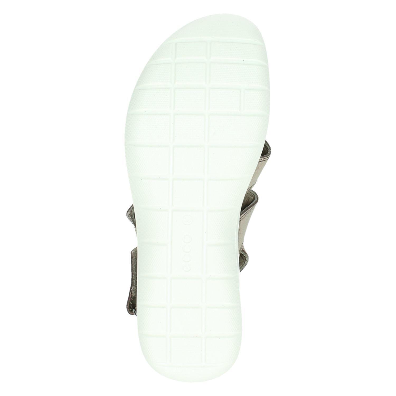 Ecco Soft 5 dames sandalen brons