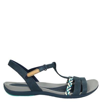 Clarks dames sandalen blauw