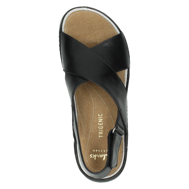 big sale 0461a 74a3b Clarks Tri Alexia dames sandalen zwart