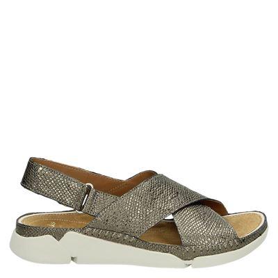 Clarks dames sandalen zilver