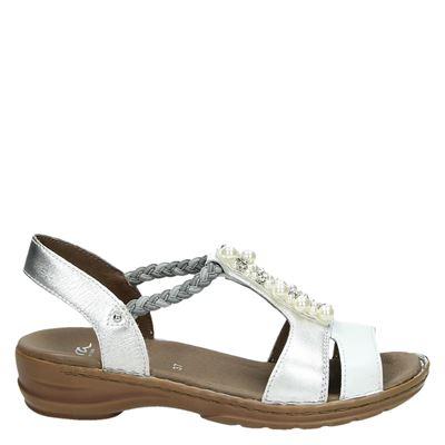 Ara dames sandalen zilver