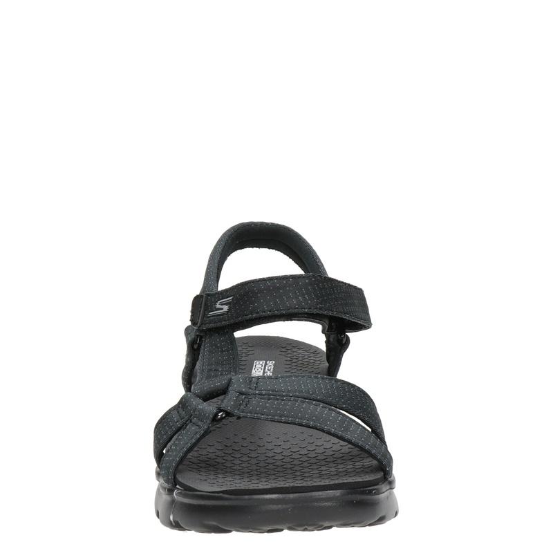 Skechers Goga Max - Sandalen - Zwart