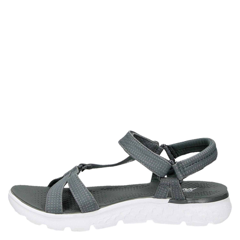 Sandales Skechers Gris ThgMiHSp7n