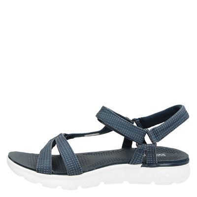 Skechers dames sandalen Blauw