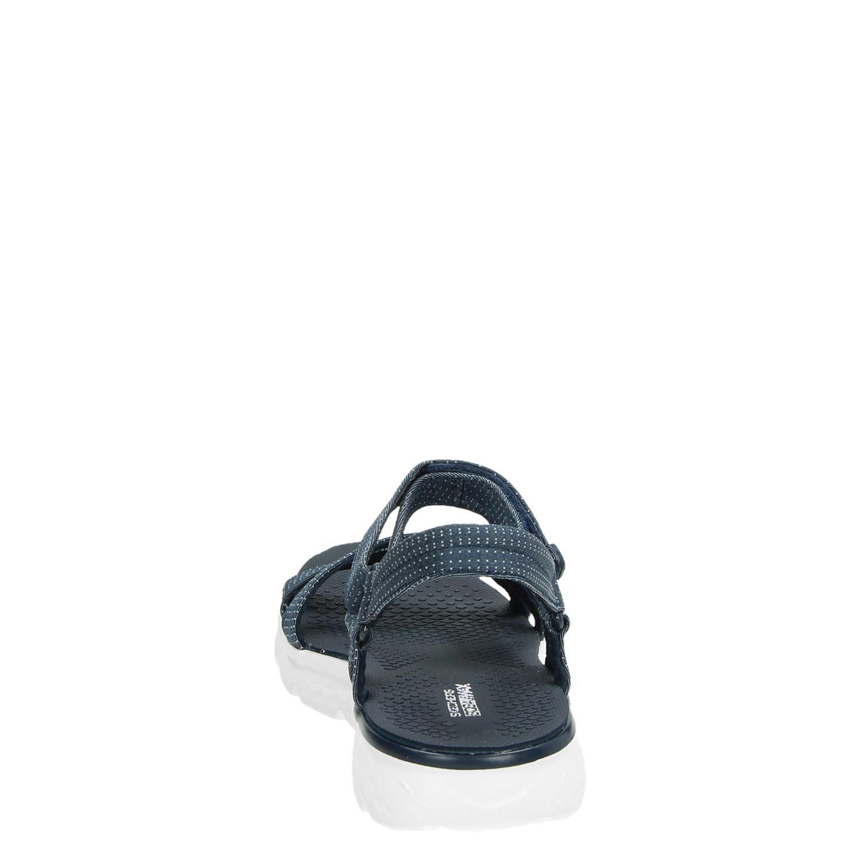 Skechers Goga Max sandalen blauw Qsgso