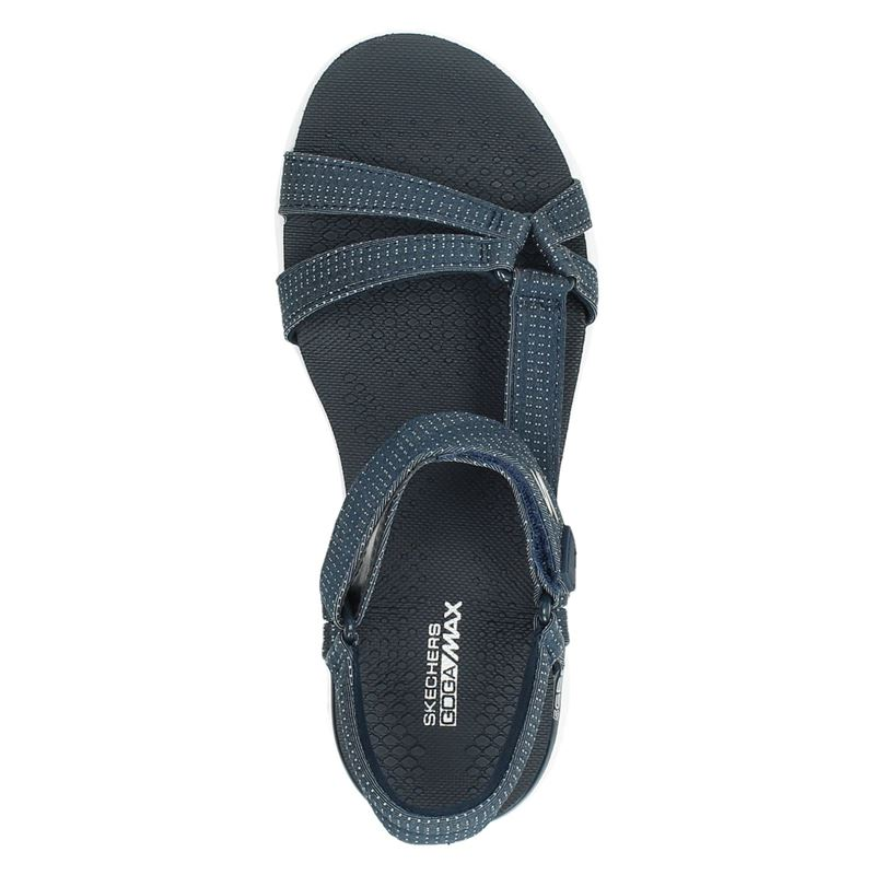 Skechers Goga Max - Sandalen - Blauw