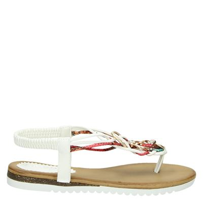 Hobb's dames sandalen wit