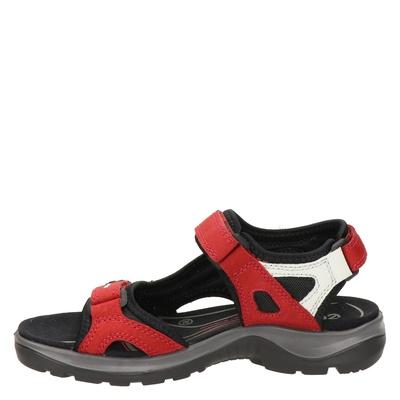 Ecco Offroaddames sandalen Rood