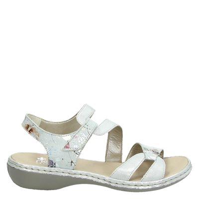 Rieker 65972 Femmes Ouvert Aux Femmes Sandales Ouvertes - Blanc - 40 Eu GqrgqupFe