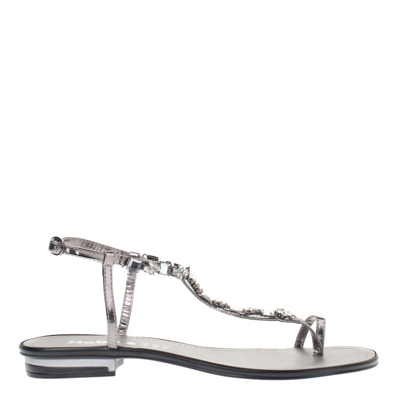 Hobb's dames sandalen zilver, 261.460.10-92-1