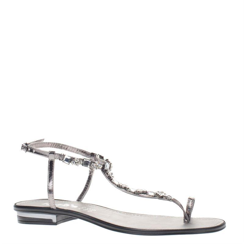 Hobb's dames sandalen zilver, 261.460.10-92-2